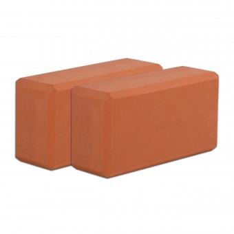 Yogablock - yogiblock basic Set of 2 terracotta