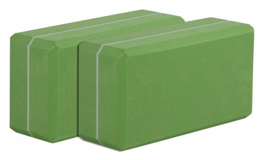 Yogablock - yogiblock basic 2-er Set kiwi