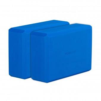 Yogablock yogiblock® big - 2er-Set blue