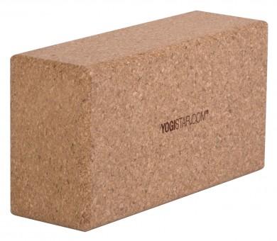 Yoga block - yogiblock - cork basic (23 x 12 x 7,4)