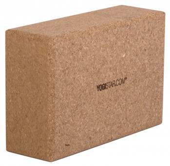 Yoga block - yogiblock - cork big (23 x 15 x 7,8)