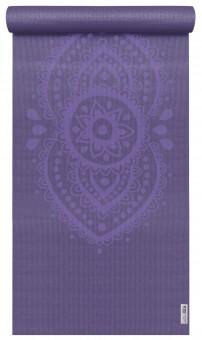 Yogamatte yogimat® basic - art collection - ajna chakra aubergine