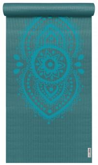 Yogamatte yogimat® basic - art collection - ajna chakra petrol