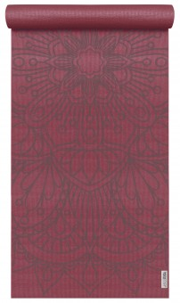 Yogamatte yogimat® basic - art collection - lotus mandala bordeaux