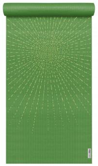 Yogamatte yogimat® basic - art collection - sparkling sunray kiwi