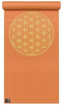 Yogamatte yogimat® basic - flower of life mango