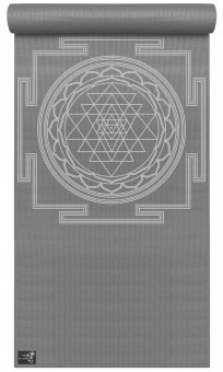 Yoga Mat Basic Sri Yantra graphit