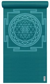 Yogamatte yogimat® basic - sri yantra petrol