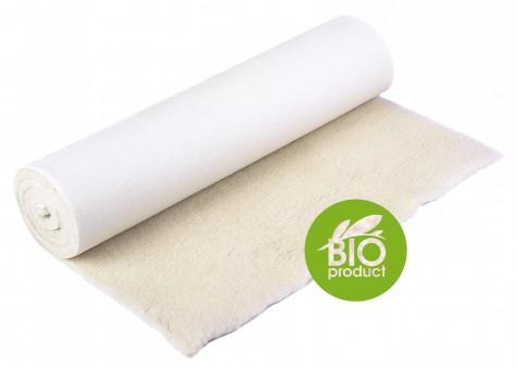 Yogamatte yogimat® natur - Bio-Schurwolle 75 cm x 200 cm