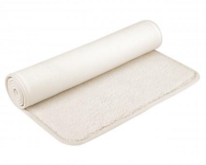 Yoga mat (sheep wool) bordered 75x180cm