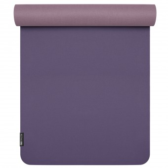 Yoga mat 'pure eco' blackberry-lilac