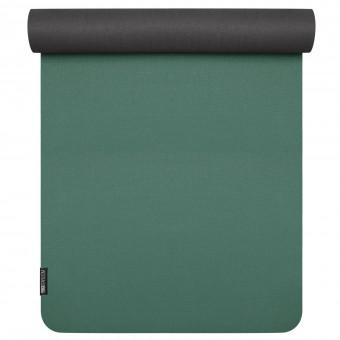 Yoga mat 'pure eco' petrol-black