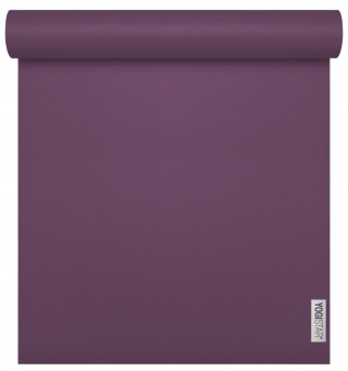 Yoga mat 'sun' - 4mm plum 185cm x 65cm x 4mm