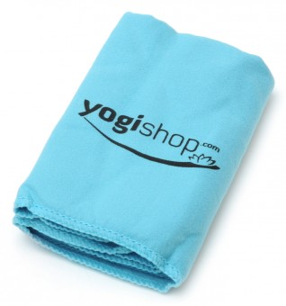 Yoga Cloth yogi mini towel, blue