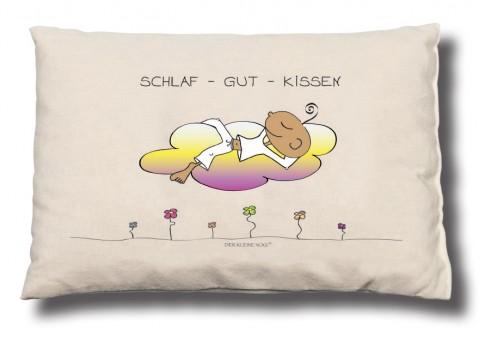 """Zirbenkissen """"Schlaf gut Kissen"""" - Der kleine Yogi"""