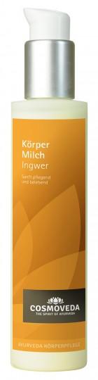 Körpermilch Ingwer, 100 ml