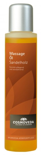 Massageöl Sandelholz, 100 ml