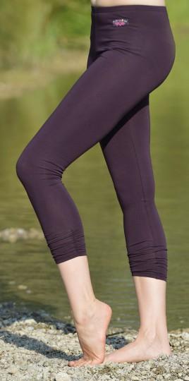 Legging 7/8-lang - aubergine