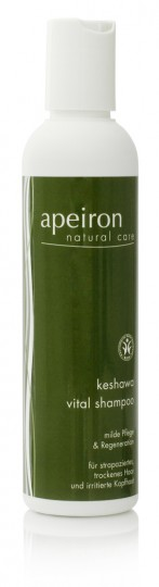 Keshawa Vital Shampoo für trockenes u. strapaziertes Haar, 200 ml