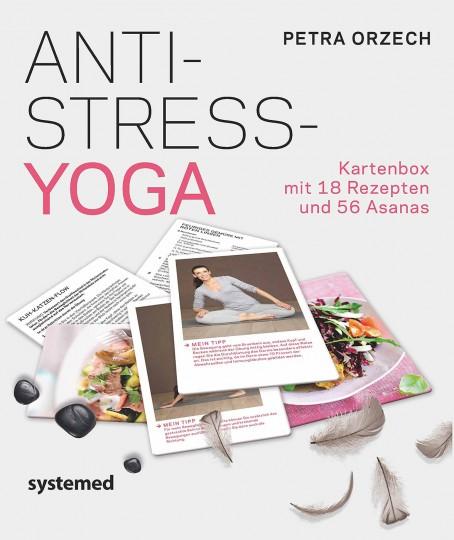 Anti-Stress Yoga: Kartenbox von Petra Orzech