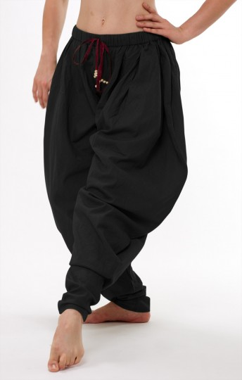 Baggy-Churidar - black