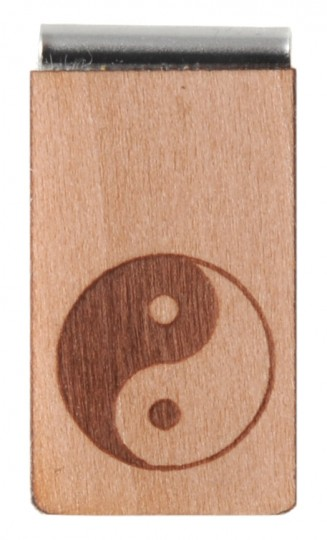 Lesezeichen aus Holz
