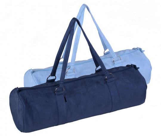 Yoga carrybag style - zip - extra big - velour - 80 cm