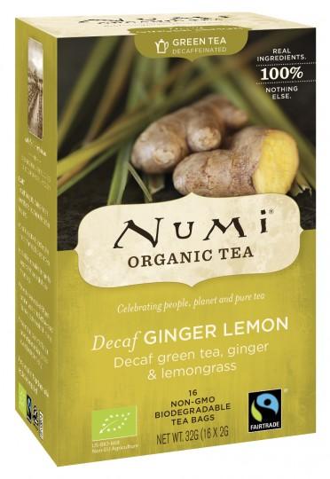 Bio Decaf Ginger Lemon, 32 g