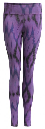 "Yoga-Leggings ""Devi"" - Ikat purple"