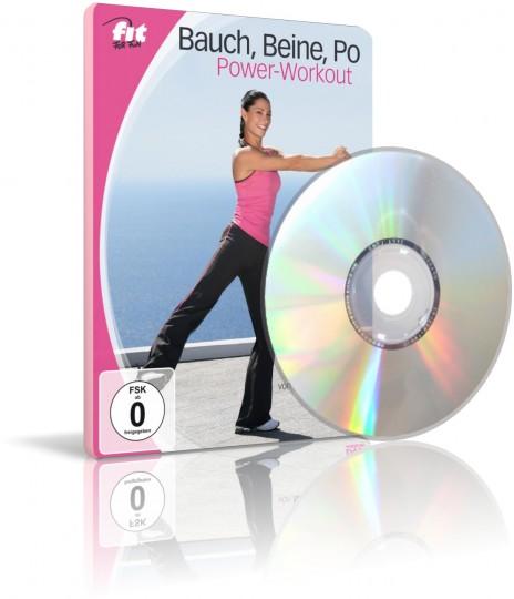 Bauch, Beine Po Power-Workout von Nina Winkler (DVD)