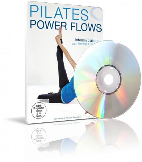 Pilates Power Flows mit Anette Alvaredo (DVD)