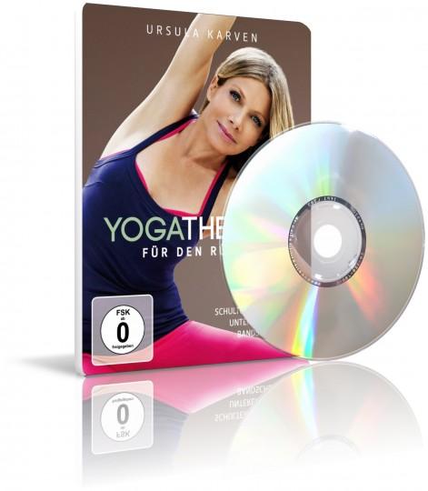 Yoga-Therapie für den Rücken von Ursula Karven (3 DVDs)