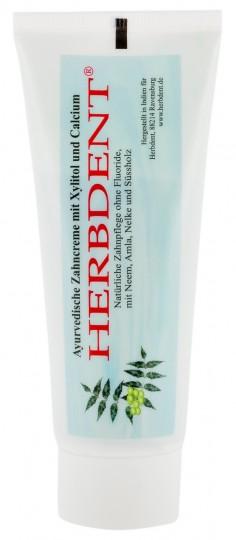 Herbdent, Ayurvedische Zahncreme mit Xylitol + Calcium