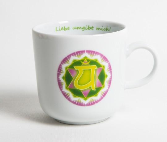 Chakra-Tasse aus Porzellan