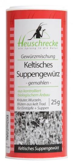 Bio Keltisches Suppengewürz gemahlen, 25 g