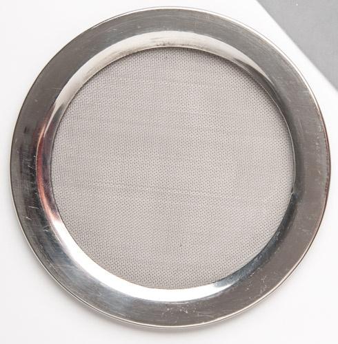 Räuchersieb aus Edelstahl - 0,5 cm (für Inka-Gefäß)
