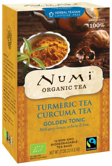 Bio Turmeric Tea Golden Tonic, 37,2 g
