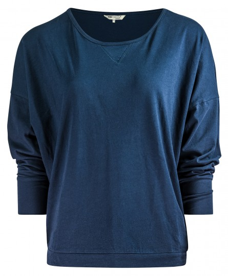"Yoga-Shirt ""Batwing"" - navy"