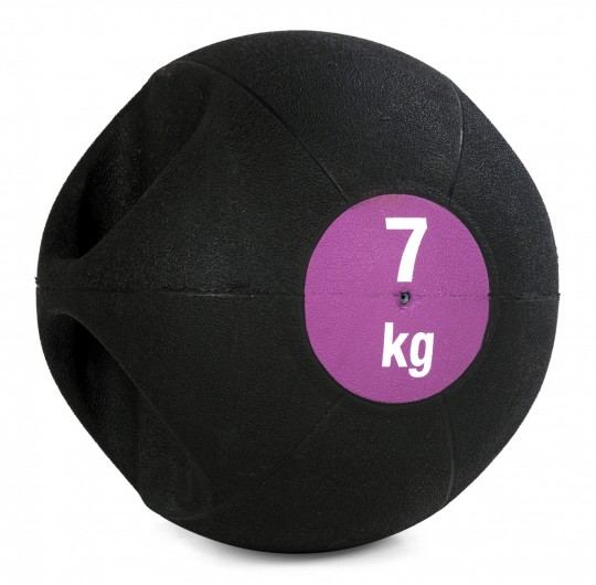 Medizinball Double-Grip