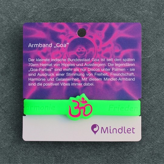 "Mindlet-Armband ""Goa"""