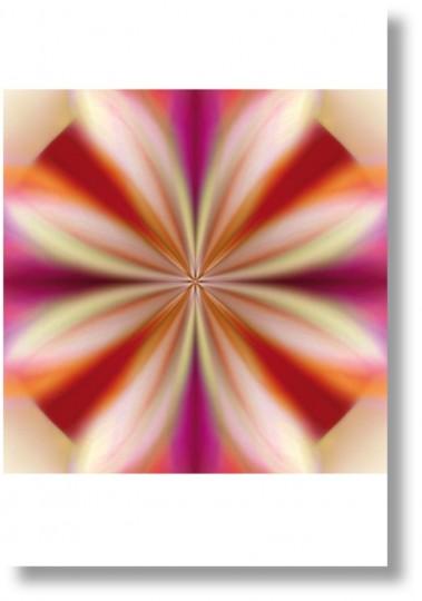 Briefkarte - Mandala volara