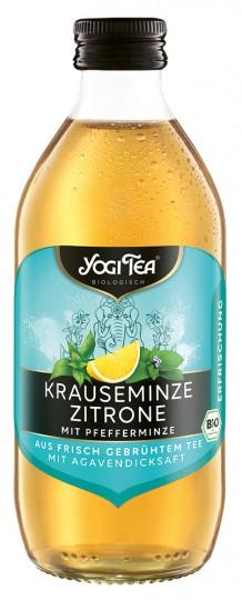 """Bio Teekaltgetränk """"ERFRISCHUNG"""", Krauseminze Zitrone mit Pfefferminze, 330 ml (inkl. 0,25 € Pfand)"""