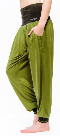 "Yoga-Pants ""Vinyasa"", olive L/XL"