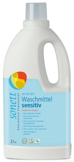 Waschmittel flüssig sensitiv, 2 l