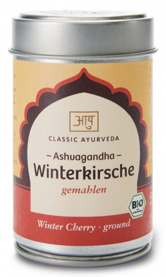 Bio Ashvagandha Churna (Winterkirsche), 50 g