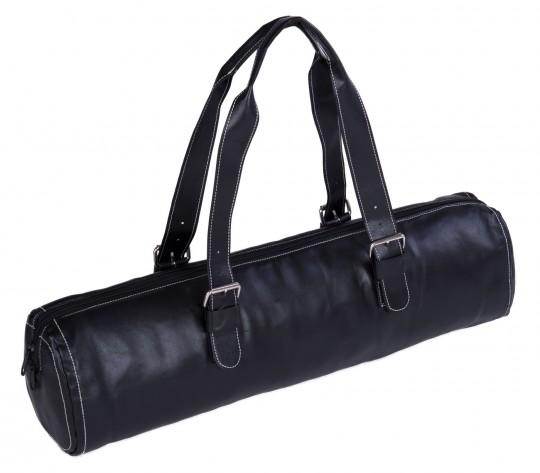 Yoga carrybag fashion - zip - leather - 62 cm