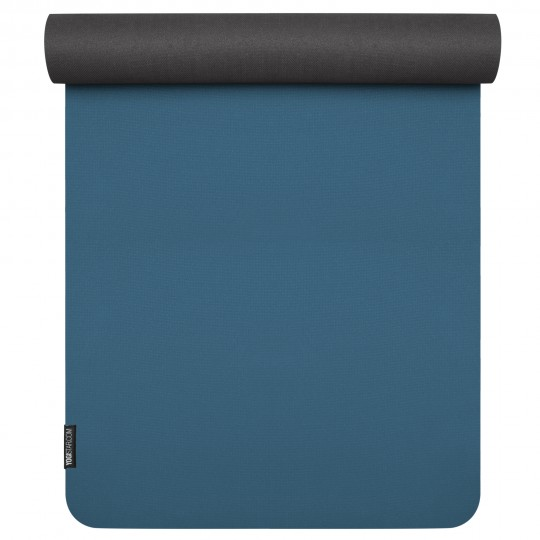 Yogamatte yogimat® pure eco blue/anthracite