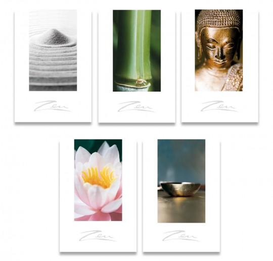 Zen-Briefkarten