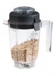 Zusätzlicher Behälter (0,9 l) mit Trocken-Schneidemesser für Vitamix TNC