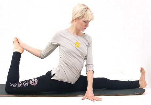 "Yoga-Leggings ""Asana"" - black"